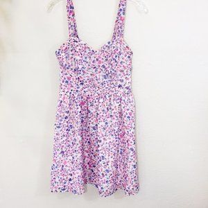Candies Strappy Floral Dress